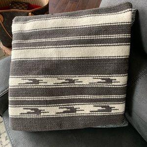 Pottery Barn wool kilm pillow